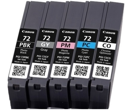 Canon Ink Multi Pack PBK/GY/PM/PC/CO