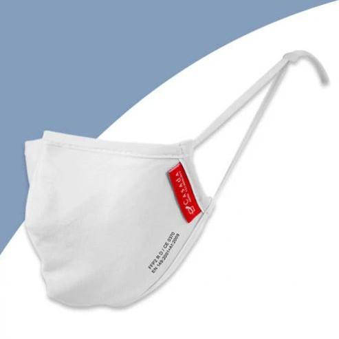 Waschbare FFP2-Nano-Maske weiß - Civil Use | ab 1 Stk. erhätlich
