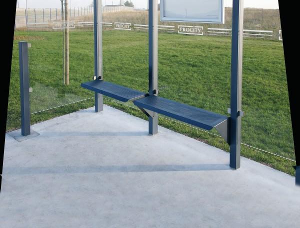 Sitzbank für Buswartehalle CONVI®