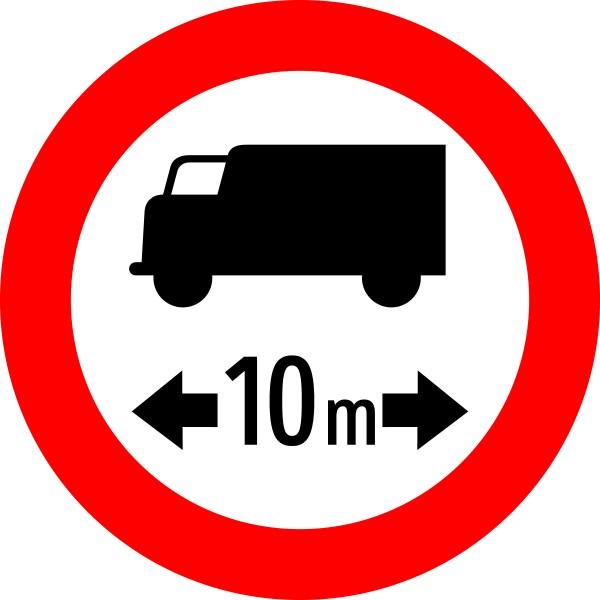 §52/7a Fahrverbot für LKW mit Längenangabe
