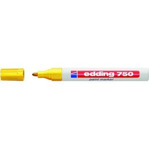 Lackmarker, 750, Rundspitze, 2 - 4 mm, Schreibf.: gelb