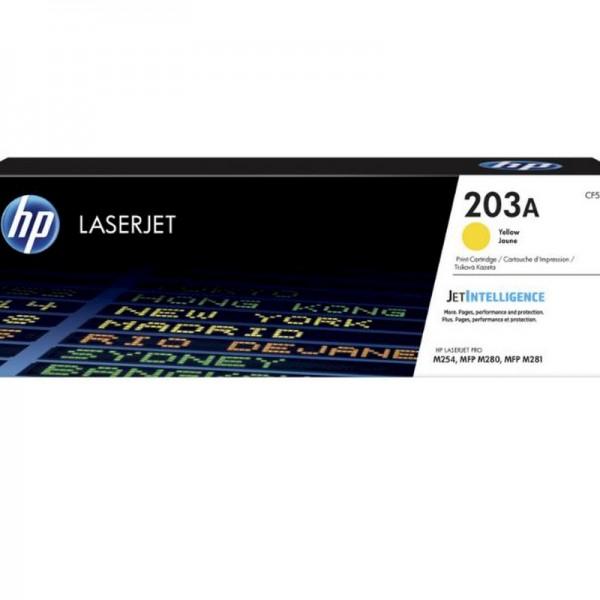 HP Toner CF542A 203A Gelb 1.300 Seiten