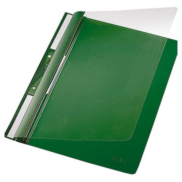 Leitz Einhakhefter 41900055 DIN A4 kfm. Heftung PVC grün