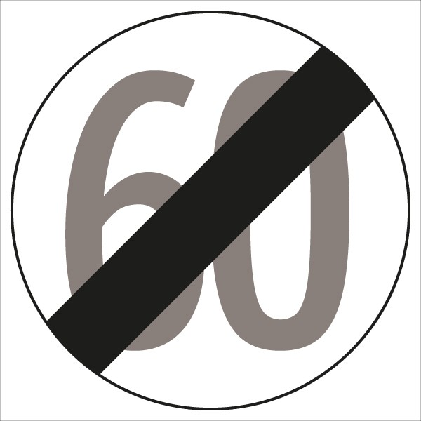 §52/10b Ende der Geschwindigkeitsbegrenzung 60 km/h