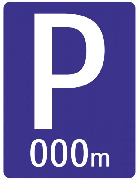 §53/1b Zum Parkplatz … m