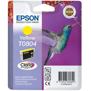 Tintenpatrone, T0804, C13T08044011, original, gelb, 7,4ml