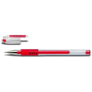 Gelschreiber G-1-10 Grip KLASSIK BLGP-G1-10, 0,6mm, Schreibf.: rot