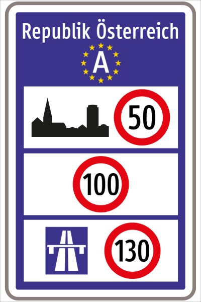 §53/22 Allgemeine Geschwindigkeitsbegrenzung