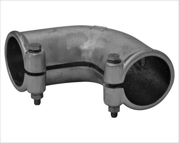 Rohrbogenverbindung NV. 60 auf 60 mm