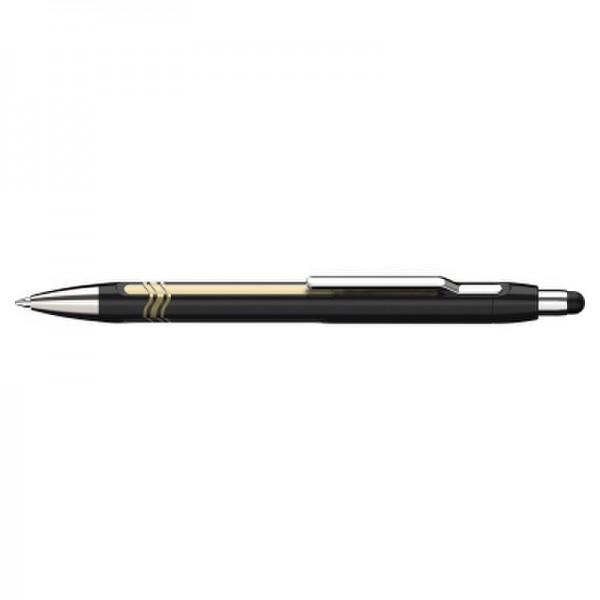 Schneider Kugelschreiber EPSILON TOUCH 138703 schwarz-gold