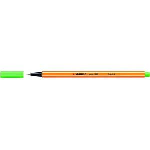 Fineliner point 88®, mit Kappe, 0,4 mm, Schreibf.: hellgrün