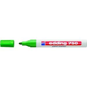 Lackmarker, 750, Rundspitze, 2 - 4 mm, Schreibf.: grün