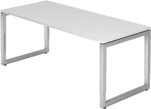 Schreibtisch R-Serie 180x80 weiß