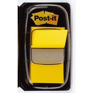 Haftmarker Index 680, 25,4 x 43,2 mm, gelb, 50 Blatt