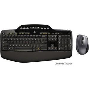 Tastatur-/Mausset Wireless Desktop MK710, QWERTZ, 2,4GHz, schwarz