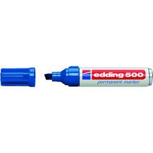 Permanentmarker 500, Keilspitze, 2 - 7 mm, Schreibf.: blau