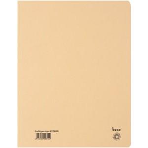 Einschlagmappe, Karton (RC), 3 Klappen, A4, für: 250 Blatt, chamois