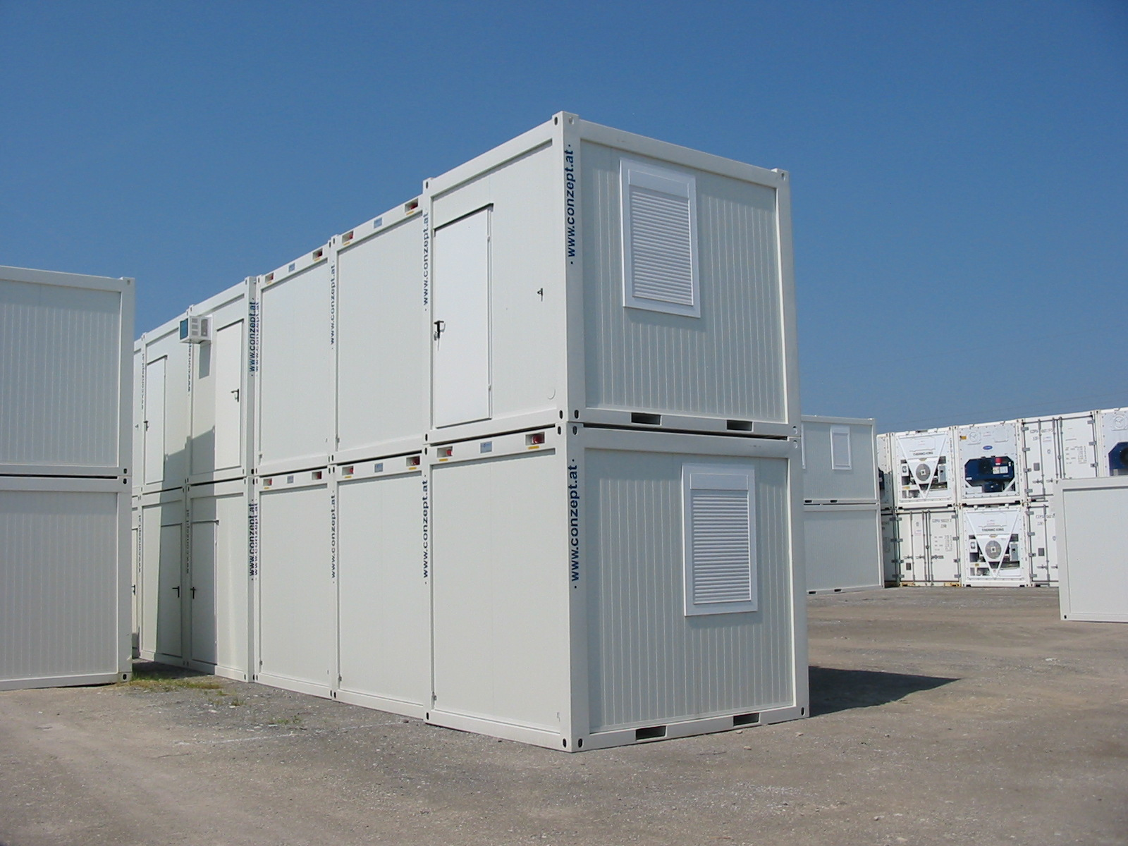 10ft Bürocontainer Standard Neu | Lagercontainer & Raummodule ...