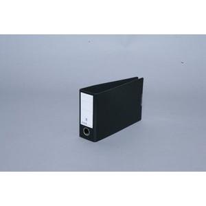 Ordner, Hartpappe (RC), SK-Rückenschild, A5 quer, 80 mm, schwarz