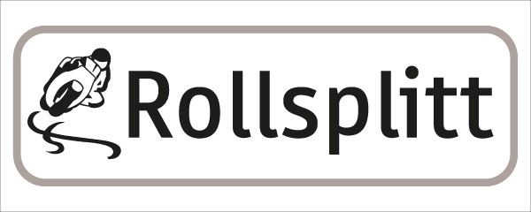 §54/5 Z.T. Text: Rollsplitt+Sym.