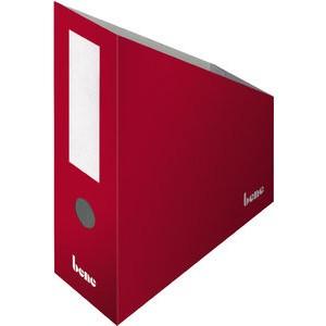 Stehsammler, Wellpappe, mit Griffloch, A4+, 100x260x320mm, rot