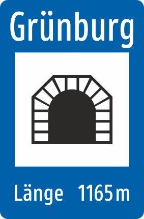 §53/9g Tunnel | Alrond Verkehrszeichen