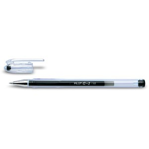 Gelschreiber Klassik BL-G1 BL-G1-5T, Kappe, 0,3mm, Schreibf.: sw