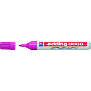 Permanentmarker, 3000, Rundspitze, 1,5-3 mm, Schreibf.: rosa