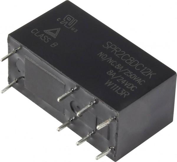 Hasco Relays and Electronics SPR2C8DC12K Printrelais 24 V/DC 8 A 2 Wechsler