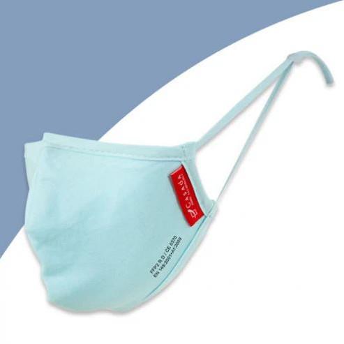 Waschbare FFP2-Nano-Maske hellblau- Civil Use   ab 1 Stk. erhältlich