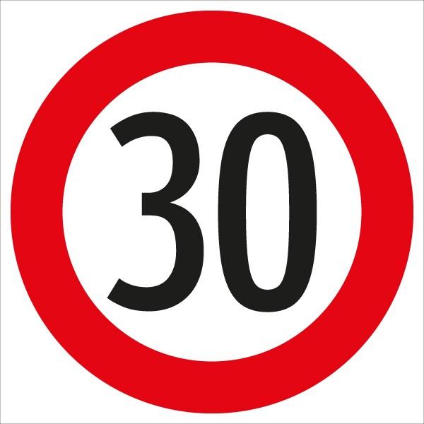 §52/10a Geschwindigkeitsbegrenzung 30 km/h