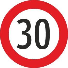 §52/10a Geschwindigkeitsbeschränkung | Alrond Verkehrszeichen