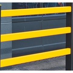 Holm für Sicherheitsgeländer, BxH 50 x 75 mm, pro lfd. m, Zuschnitt 500 - 1400 m