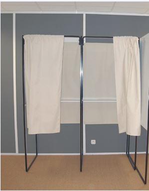 Wahlkabine - gebraucht