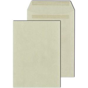 Versandtasche, o.Fe., selbstklebend, C4, 90 g/m², Recycling, grau