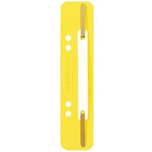 Heftstreifen, PP, kurz, 35x158mm, gelb