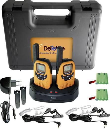 DeTeWe Outdoor 8000 Duo Case 208046 PMR-Handfunkgerät 2er Set