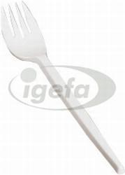 Gabel PS 17,5cm weiß