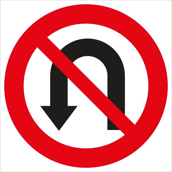 §52/3c Umkehren verboten