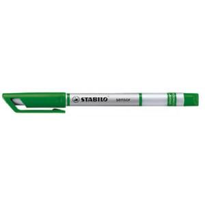 Fineliner sensor®, Kappe, F, 0,3mm, Schreibf.: grün