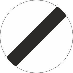 §52/11 Ende von Überholverboten und Geschwindigkeitsbeschränkung