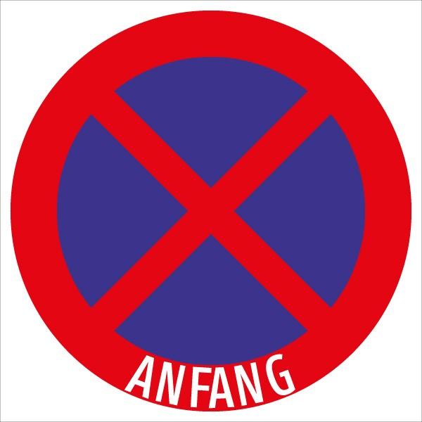 §52/13b Halten u. Parken verboten - Anfang