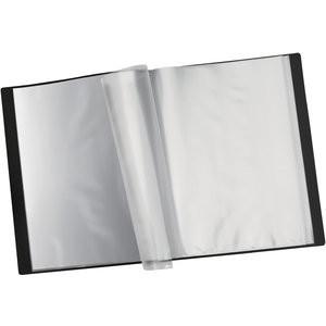 Sichtbuch, PP, 40 Hüllen, A4, schwarz