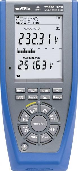Metrix MTX3291 Hand-Multimeter Kalibriert nach: Werksstandard (ohne Zertif