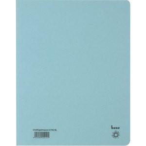 Einschlagmappe, Karton (RC), 3 Klappen, A4, für: 250 Blatt, blau