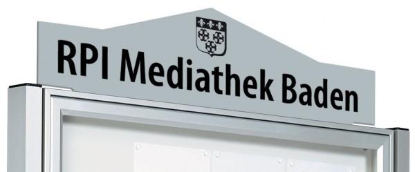 """Beschriftungstafel """"ETNA"""" für Schaukasten TRADITION & KLASSIK"""