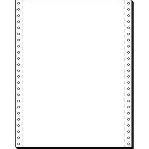 Tabellierpapier, LP, 240x304,8mm, 1f., 60g/m², blanko, weiß