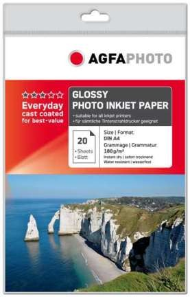 AgfaPhoto Inkjet Photo Paper A4 1x20
