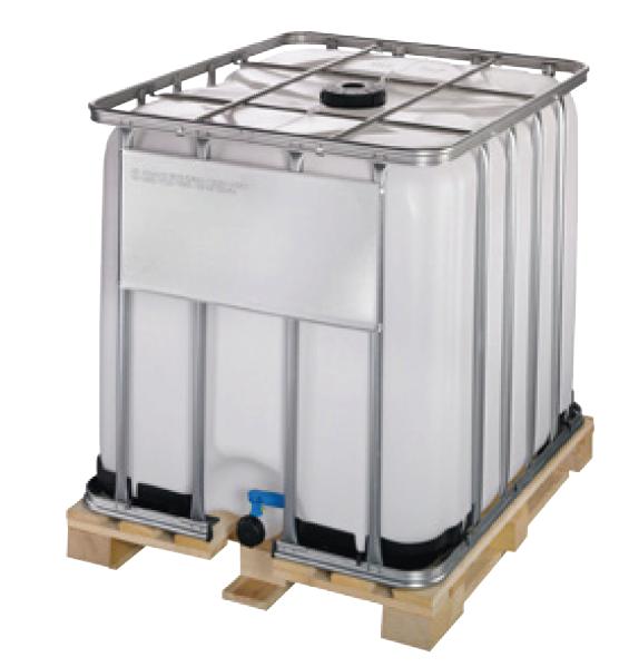 Handdesinfektionsmittel 1000 Liter im IBC-Container mit Abfüllhahn
