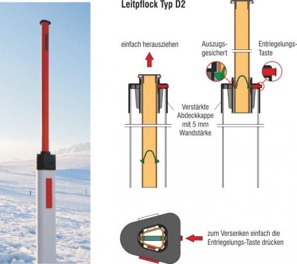 Leitpflock Typ D2